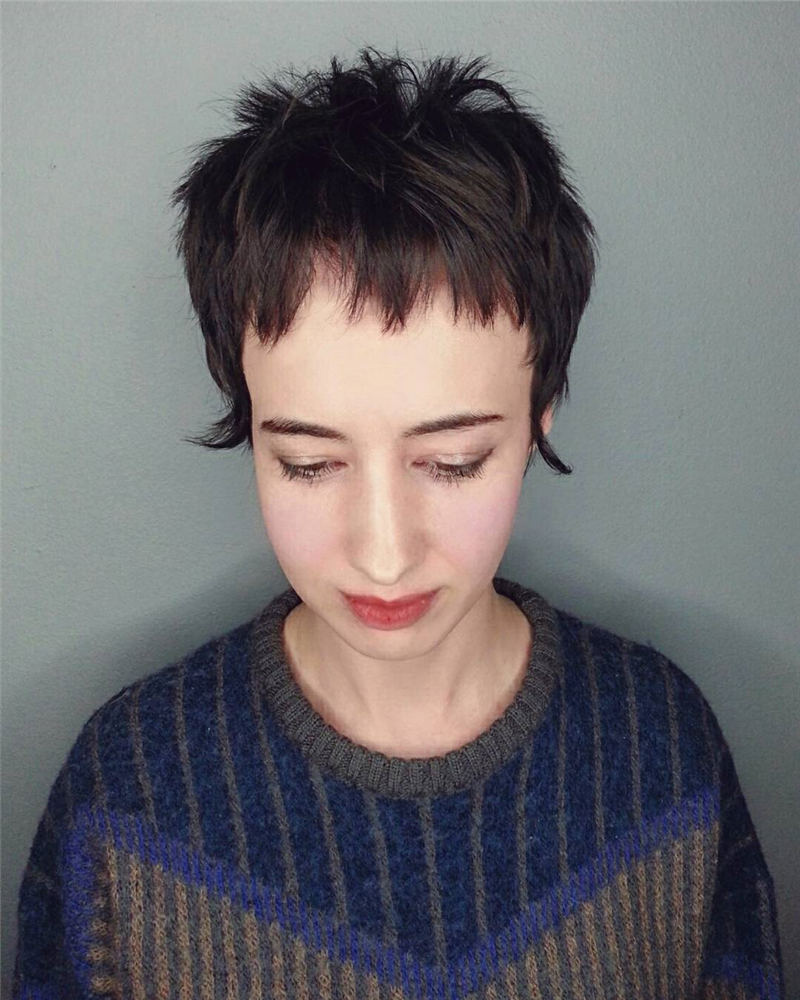 Choppy Pixie Cut To Boost Your Looks For 2020 18