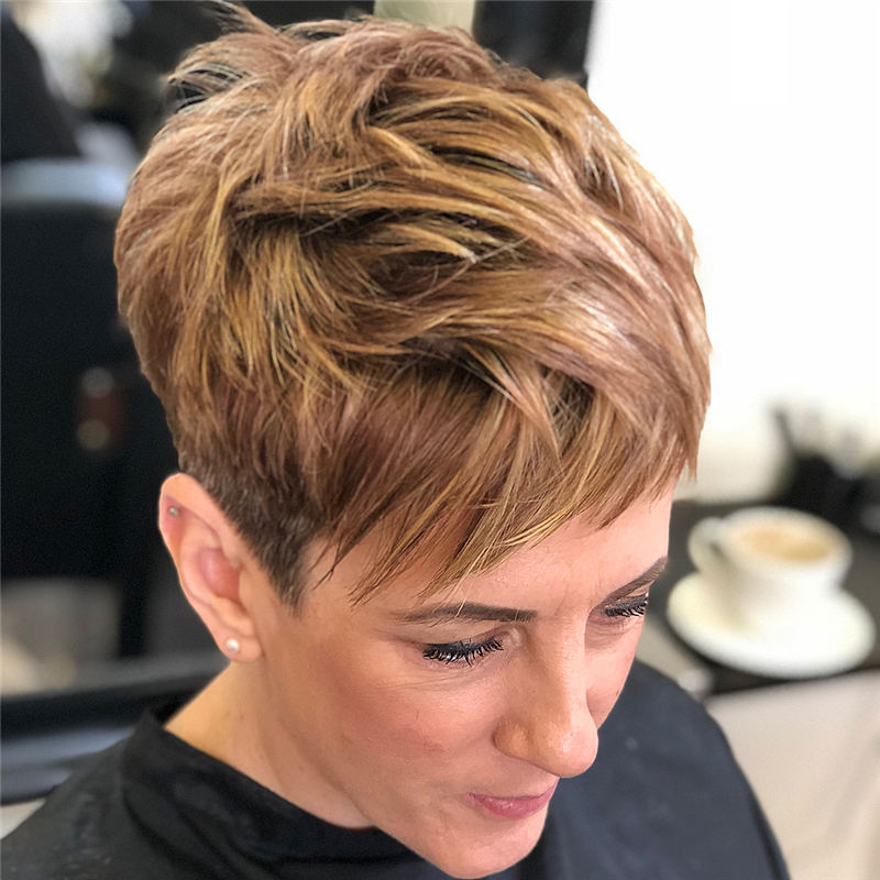 Choppy Pixie Cut To Boost Your Looks For 2020 30