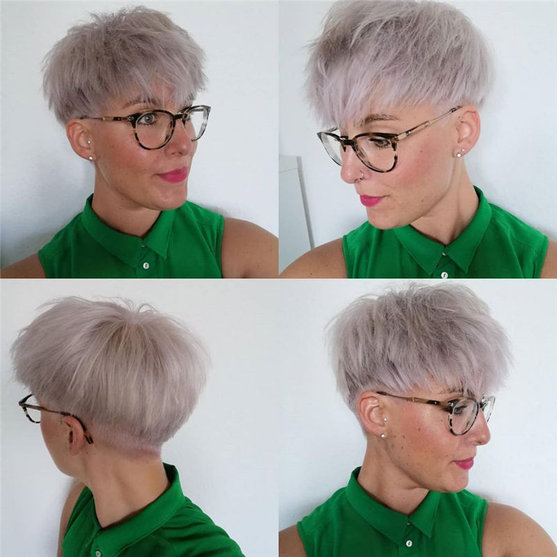 Cool Short Pixie Haircuts Front And Back View 03
