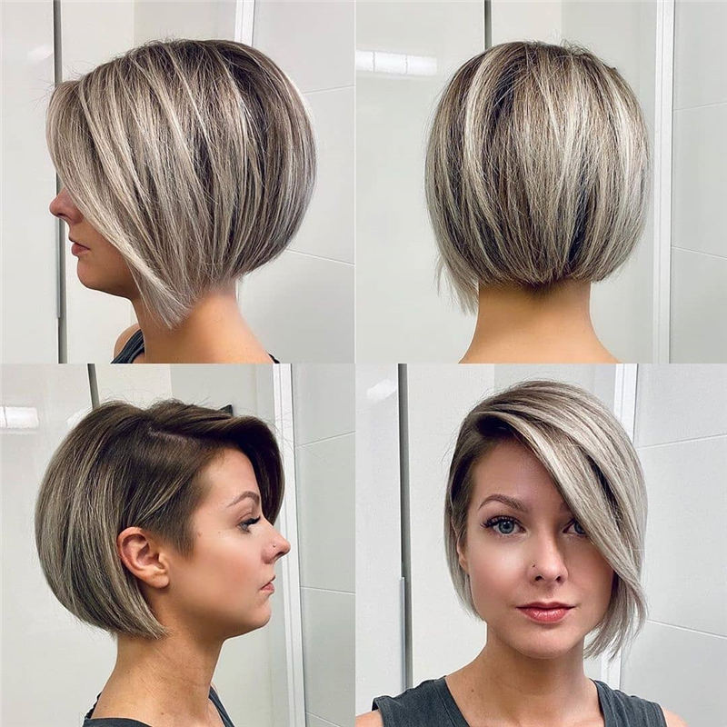 Cool Short Pixie Haircuts Front And Back View 05