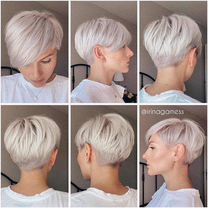 Cool Short Pixie Haircuts Front And Back View 08