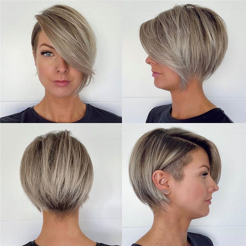 Cool Short Pixie Haircuts Front And Back View 09
