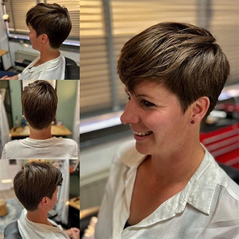 Cool Short Pixie Haircuts Front And Back View 21