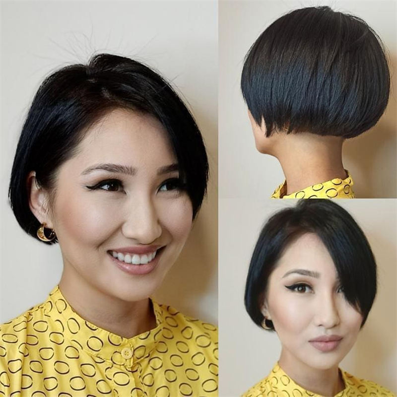 Cool Short Pixie Haircuts Front And Back View 25