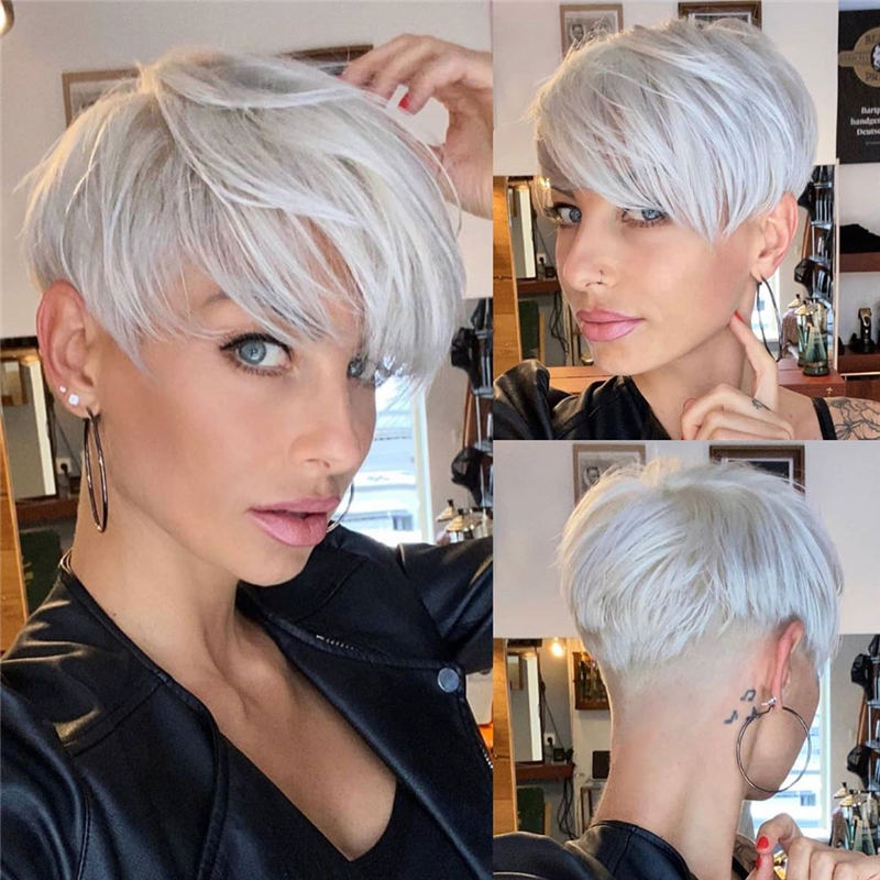 Cool Short Pixie Haircuts Front And Back View 26