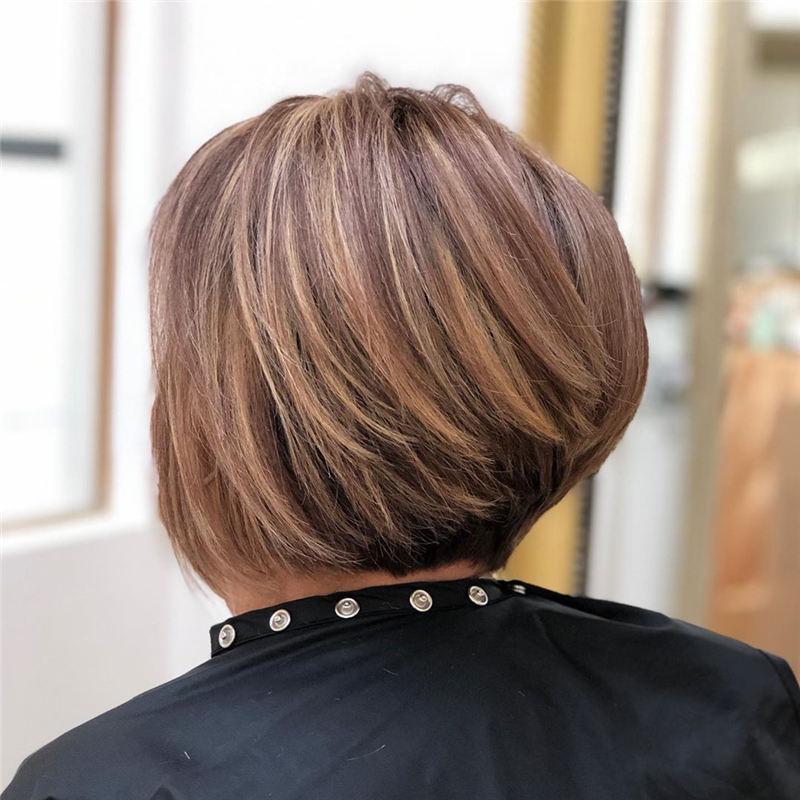 Cute Stylish Short Bob Haircuts for 2020 01
