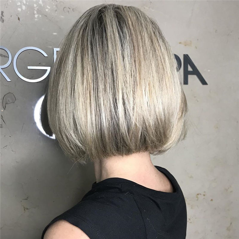 Cute Stylish Short Bob Haircuts for 2020 28
