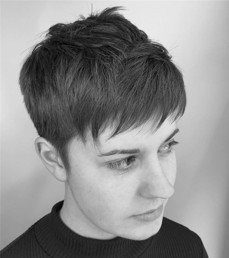 Hottest Textured Pixie Cut Hairstyles to Make You Stand Out 09