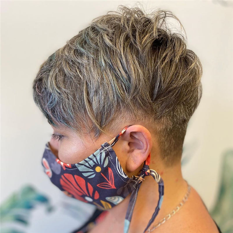 Hottest Textured Pixie Cut Hairstyles to Make You Stand Out 26