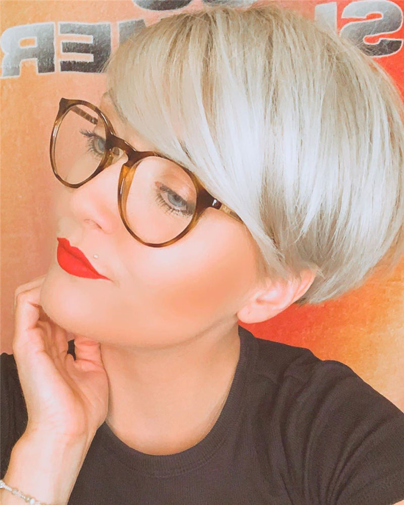 Stylish Short Hairstyles for Women You Cant Miss 07