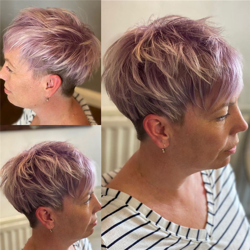 Stylish Short Hairstyles for Women You Cant Miss 37