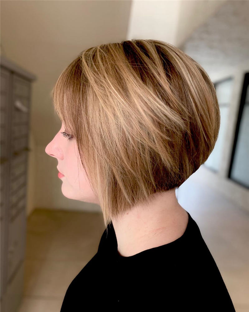 Trendy Cute Short Hairstyles for 2020 22