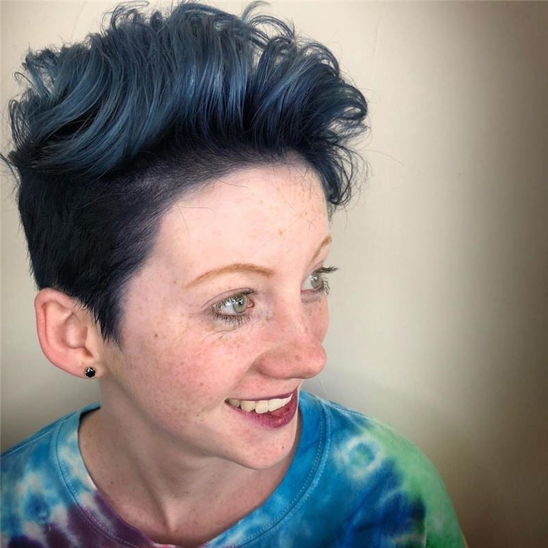 Trendy Cute Short Hairstyles for 2020 24
