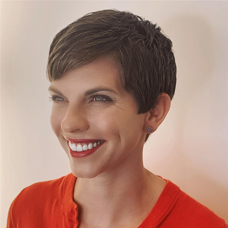 Trendy Cute Short Hairstyles for 2020 27