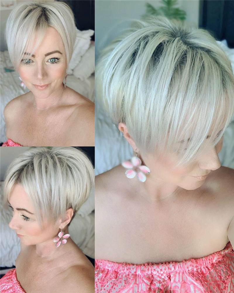 Cool Short Pixie Cuts to Copy Asap 43