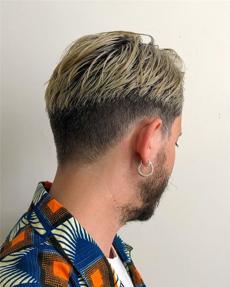 New Edgy Mens Haircuts for Cool Guys 38