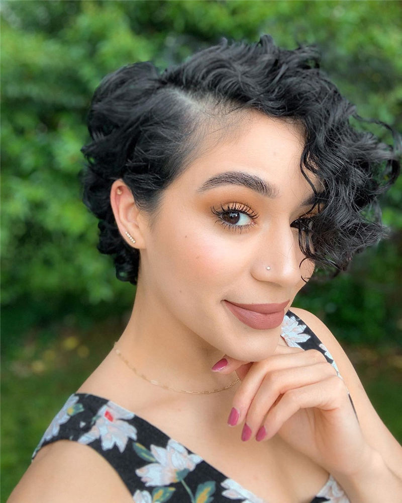 Top Curly Pixie Cut Of 2020 You Cant Miss 16