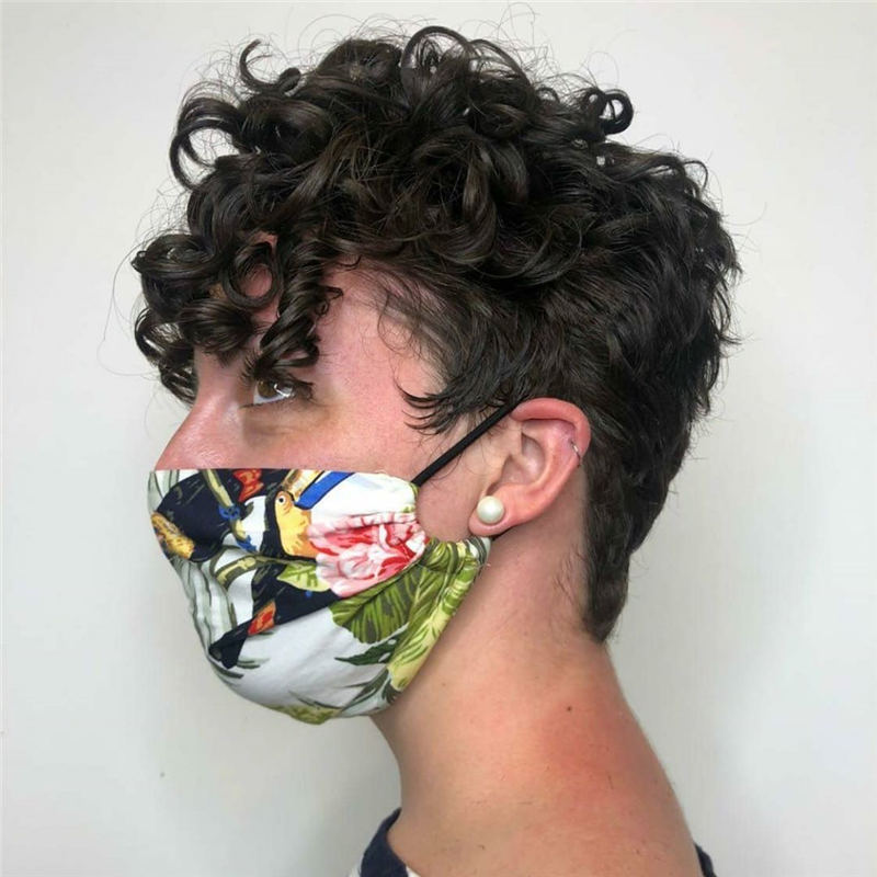 Top Curly Pixie Cut Of 2020 You Cant Miss 24