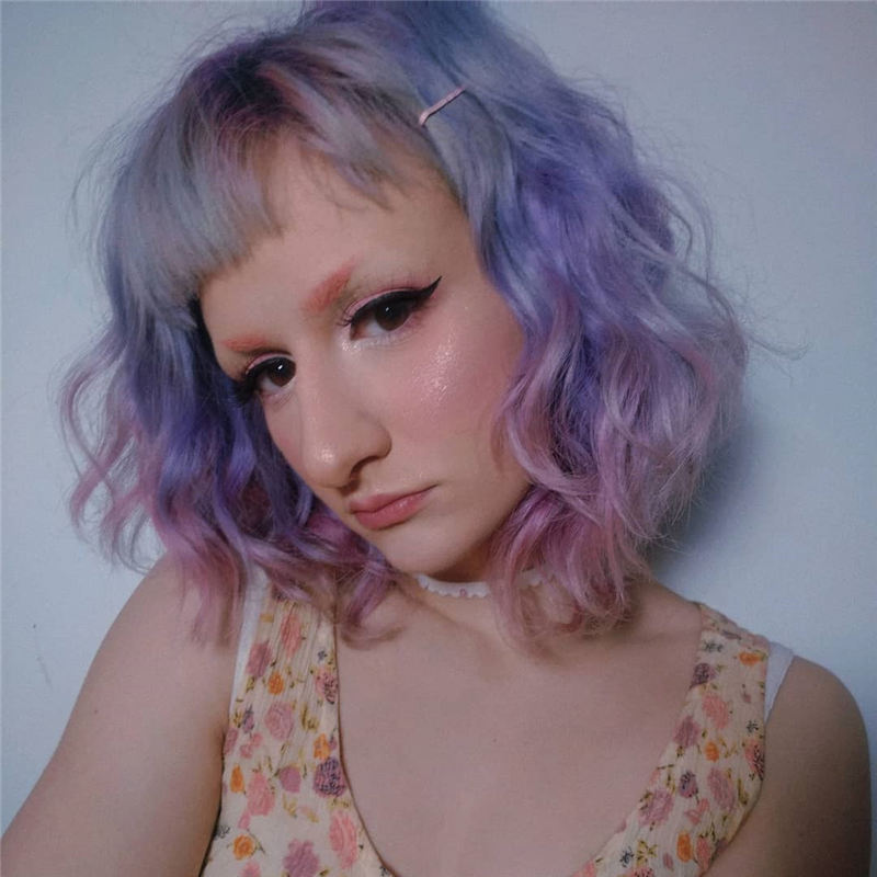 Amazing Pastel Hair Colors That Currently Trending 01