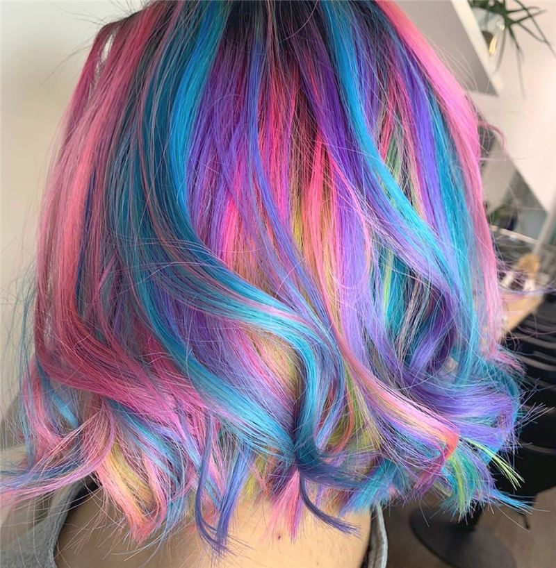 Amazing Pastel Hair Colors That Currently Trending 11