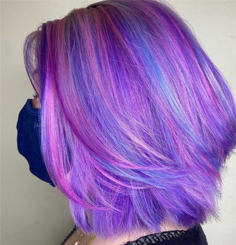 Amazing Pastel Hair Colors That Currently Trending 12