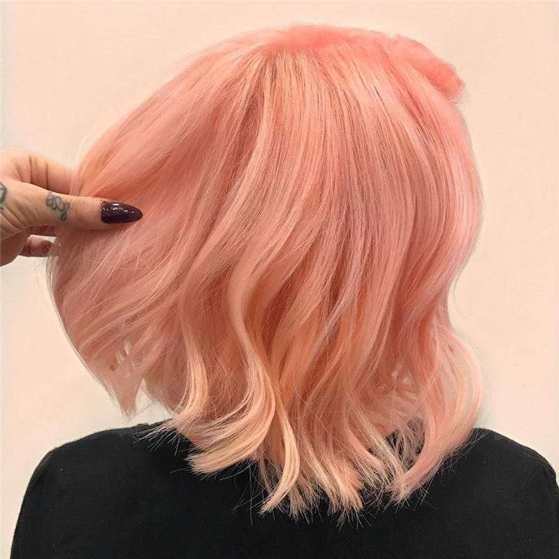 Amazing Pastel Hair Colors That Currently Trending 22