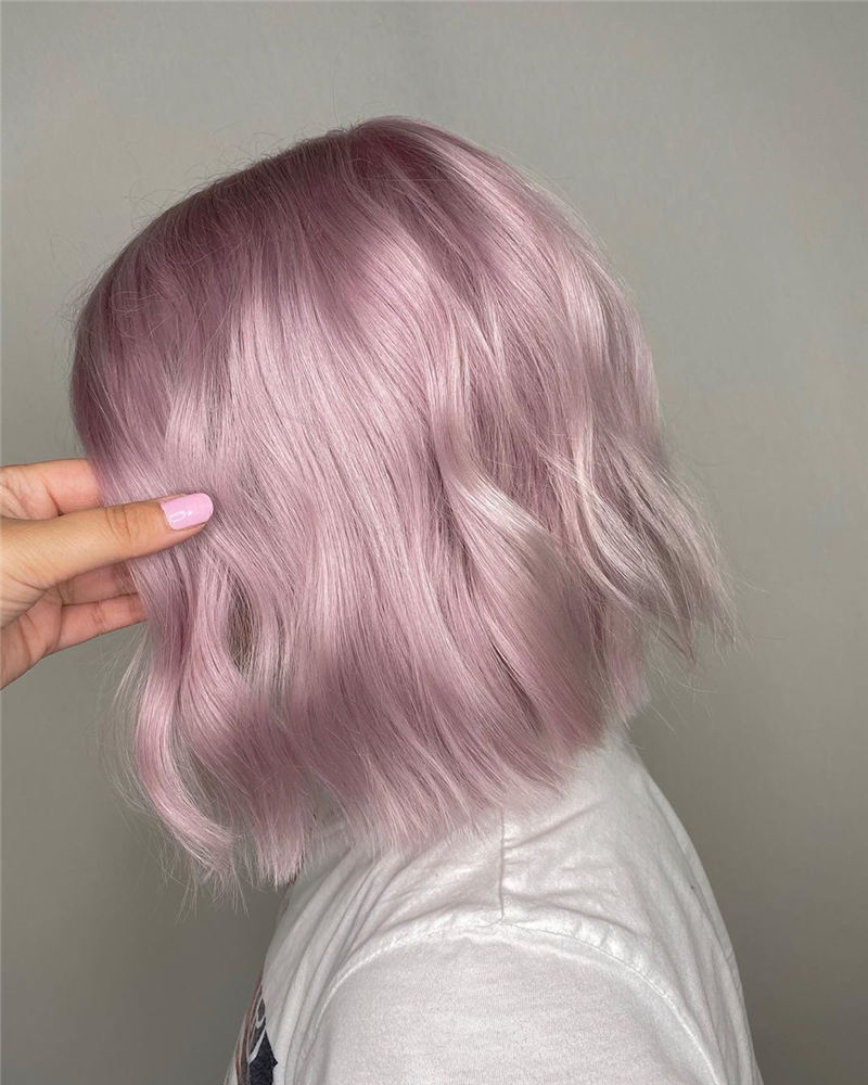 Amazing Pastel Hair Colors That Currently Trending 24