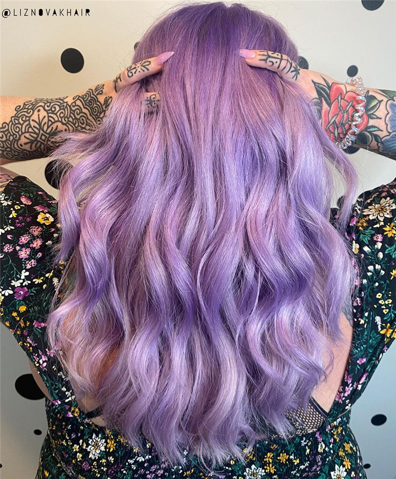 Amazing Pastel Hair Colors That Currently Trending 27