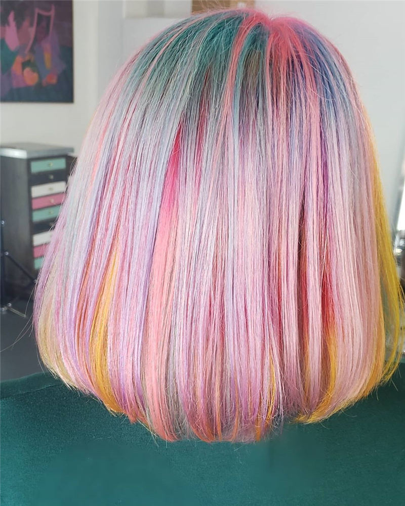 Amazing Pastel Hair Colors That Currently Trending 32