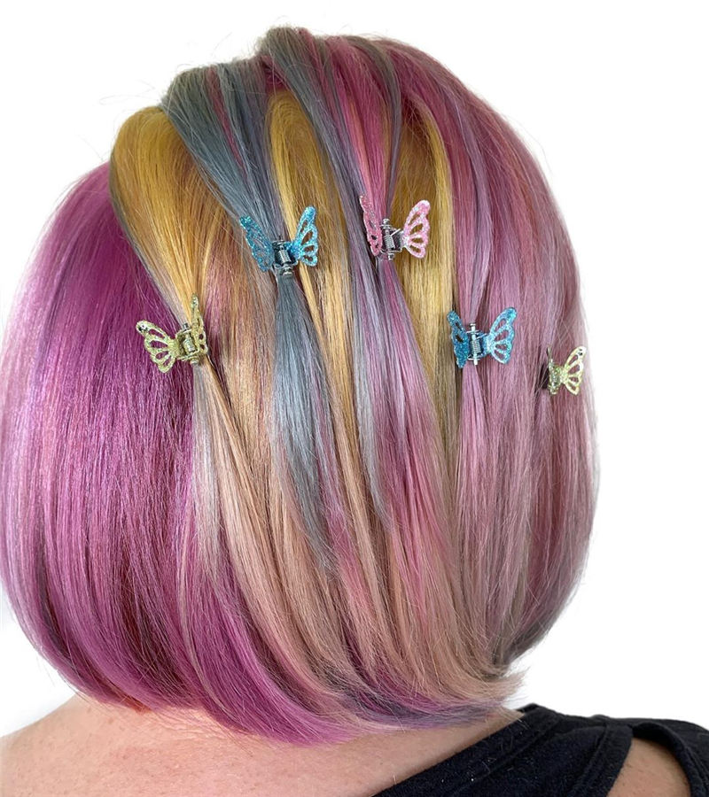 Amazing Pastel Hair Colors That Currently Trending 34