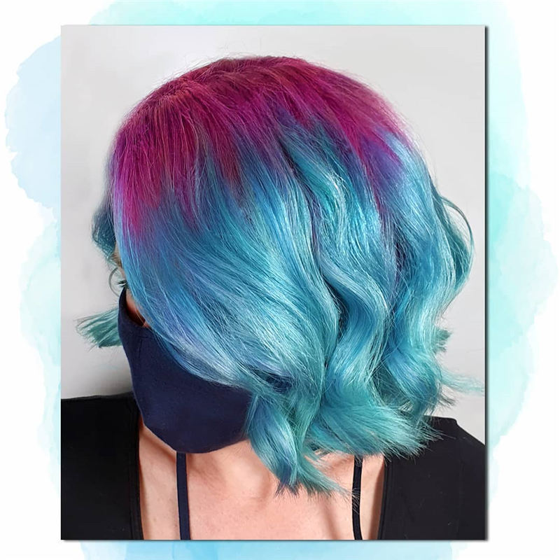 Amazing Pastel Hair Colors That Currently Trending 37