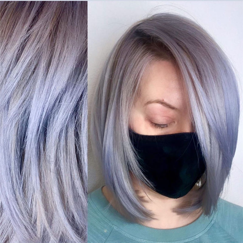 Amazing Pastel Hair Colors That Currently Trending 39