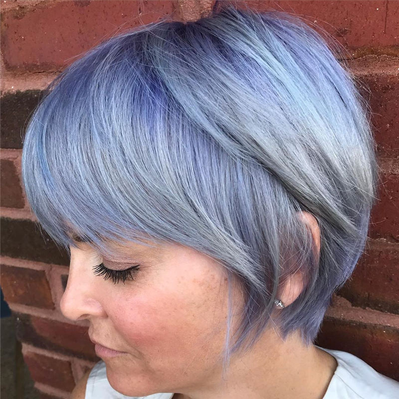 Amazing Pastel Hair Colors That Currently Trending 40