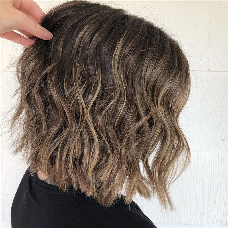 Best Layered Bob Hairstyles For 2021 04