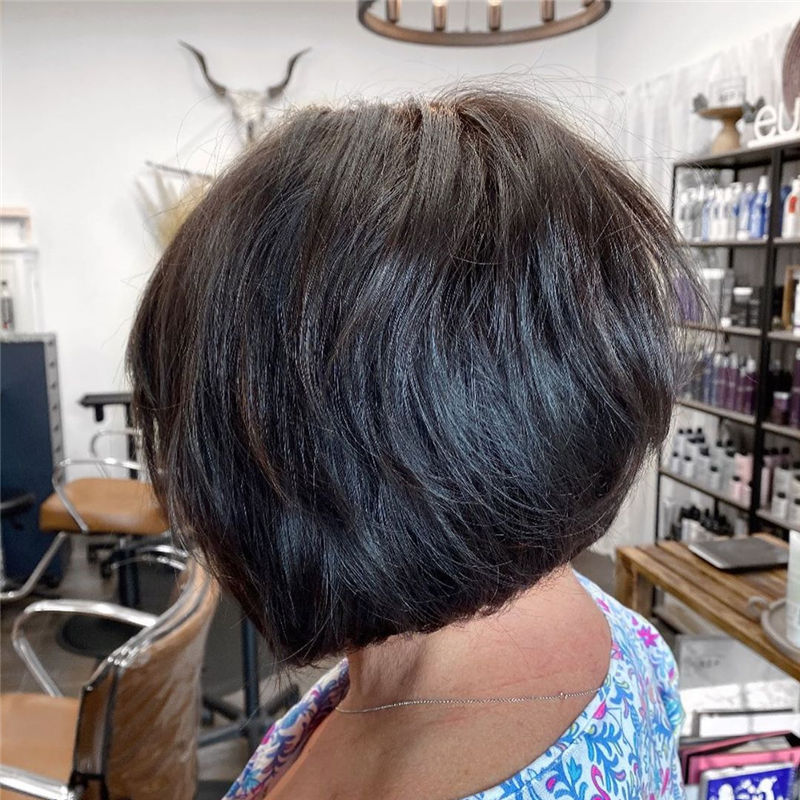 Best Layered Bob Hairstyles For 2021 05