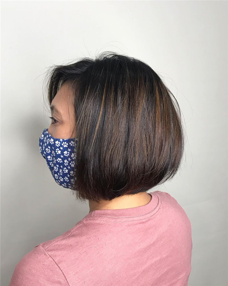 Best Layered Bob Hairstyles For 2021 08
