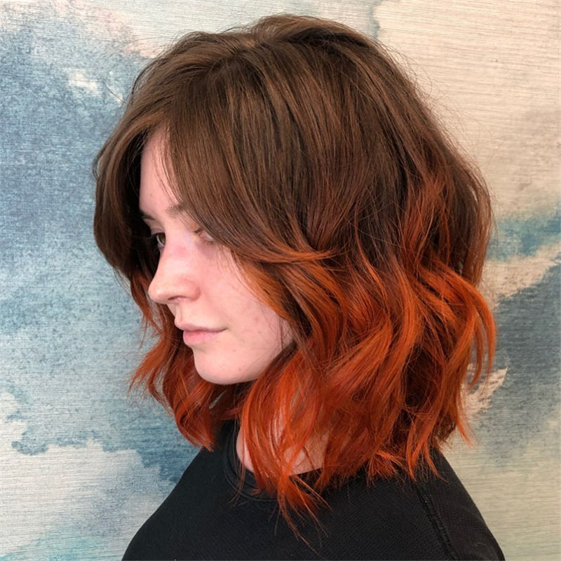 Best Layered Bob Hairstyles For 2021 12