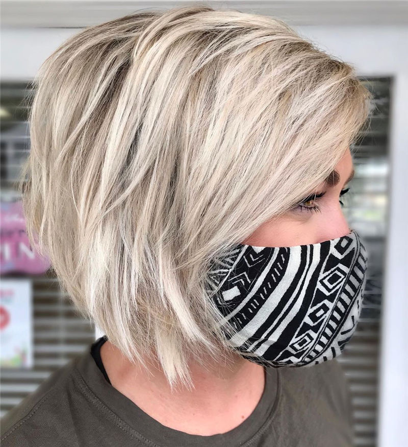 Best Layered Bob Hairstyles For 2021 15
