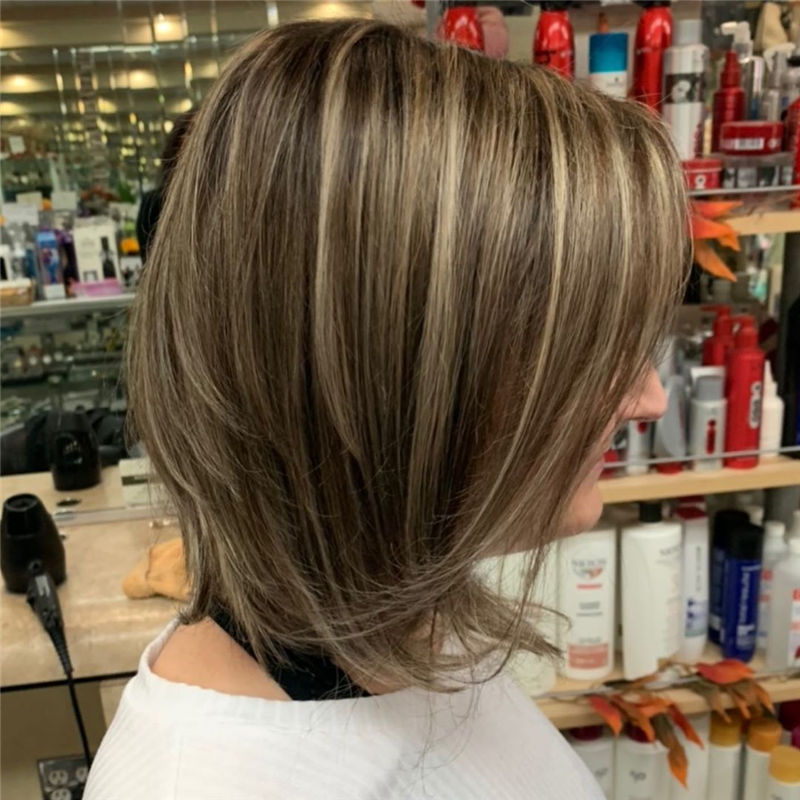 Best Layered Bob Hairstyles For 2021 16