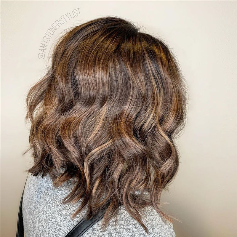 Best Layered Bob Hairstyles For 2021 21