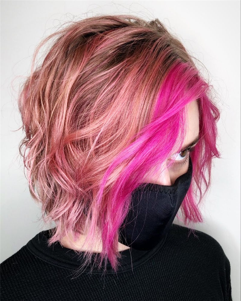 Best Layered Bob Hairstyles For 2021 23