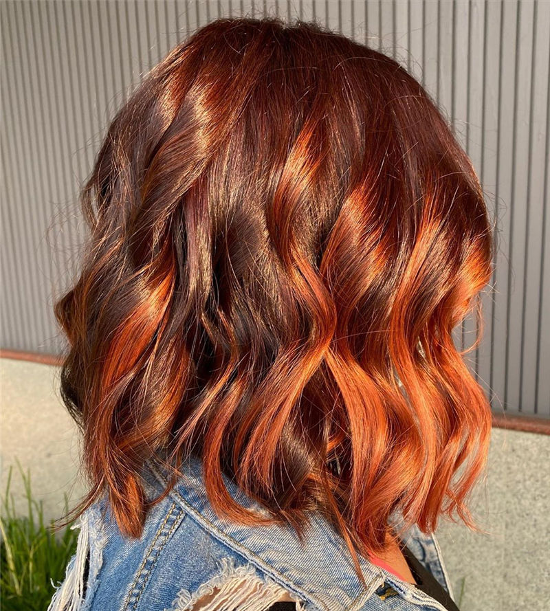 Best Layered Bob Hairstyles For 2021 27