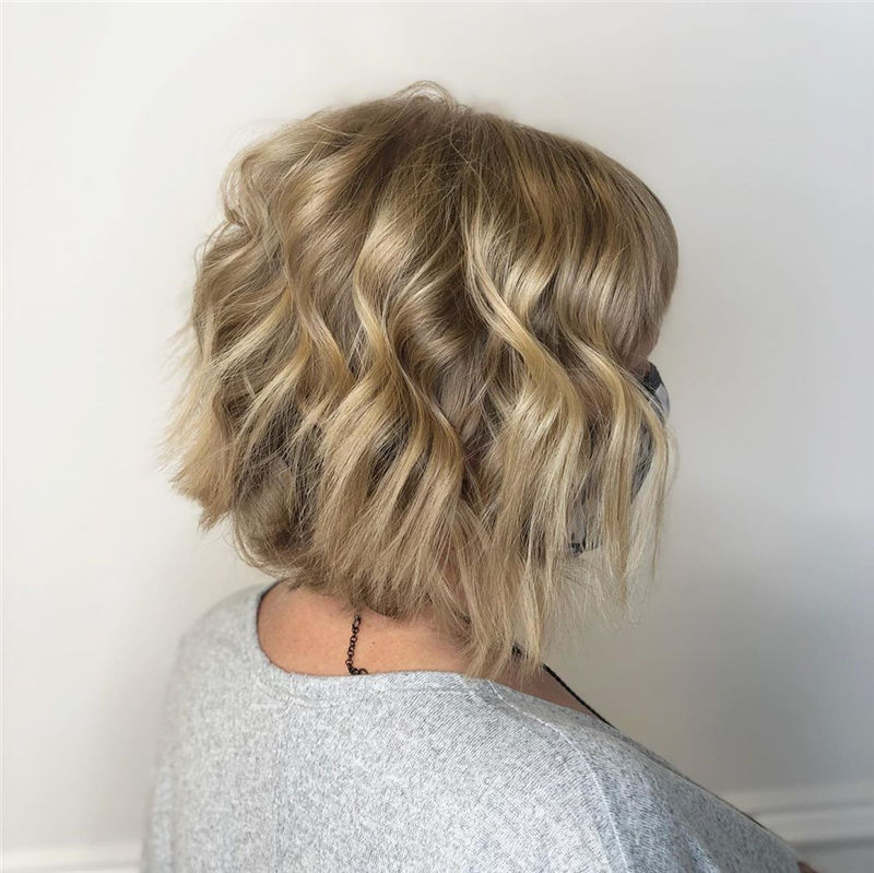 Best Layered Bob Hairstyles For 2021 29