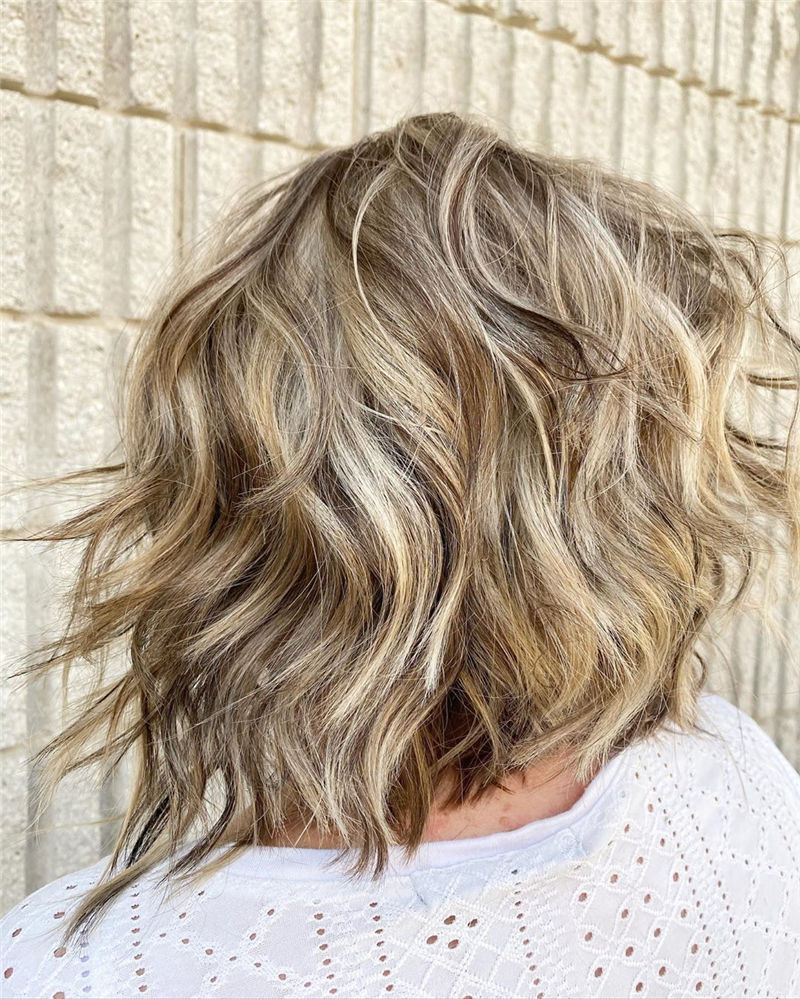 Best Layered Bob Hairstyles For 2021 35