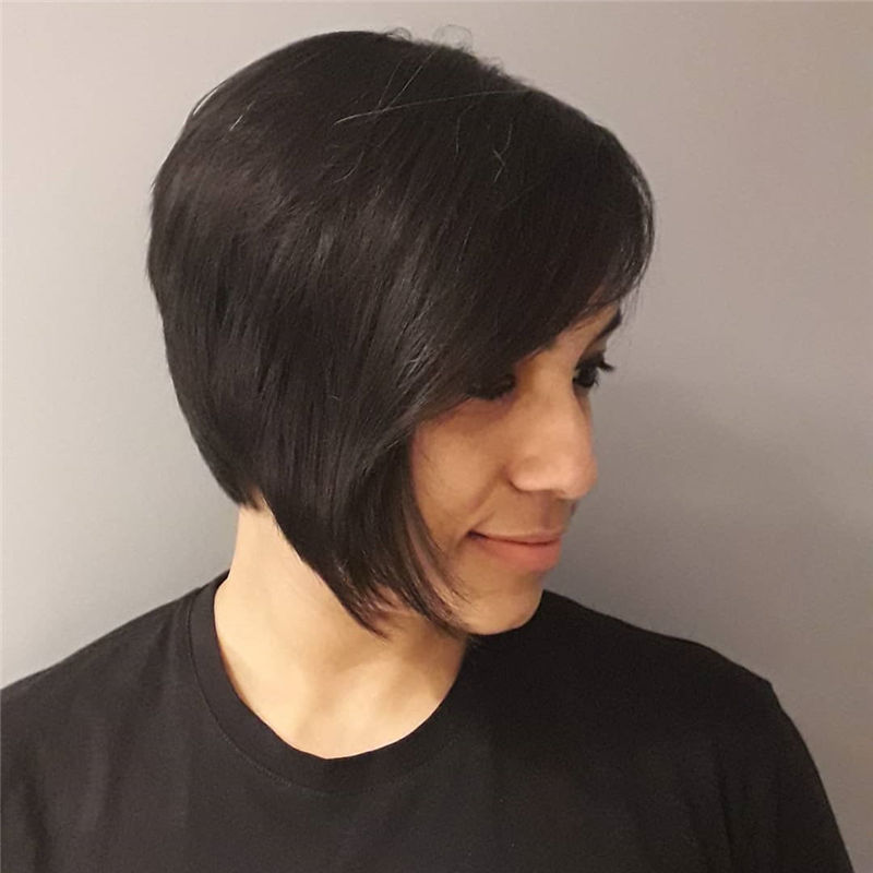 Best Layered Bob Hairstyles For 2021 42