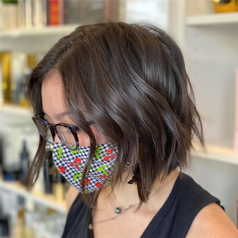 Best Layered Bob Hairstyles For 2021 45