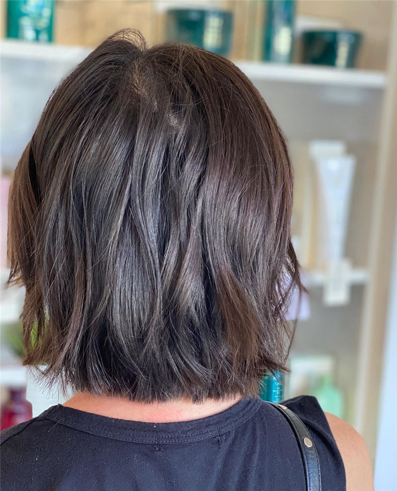Best Layered Bob Hairstyles For 2021 46