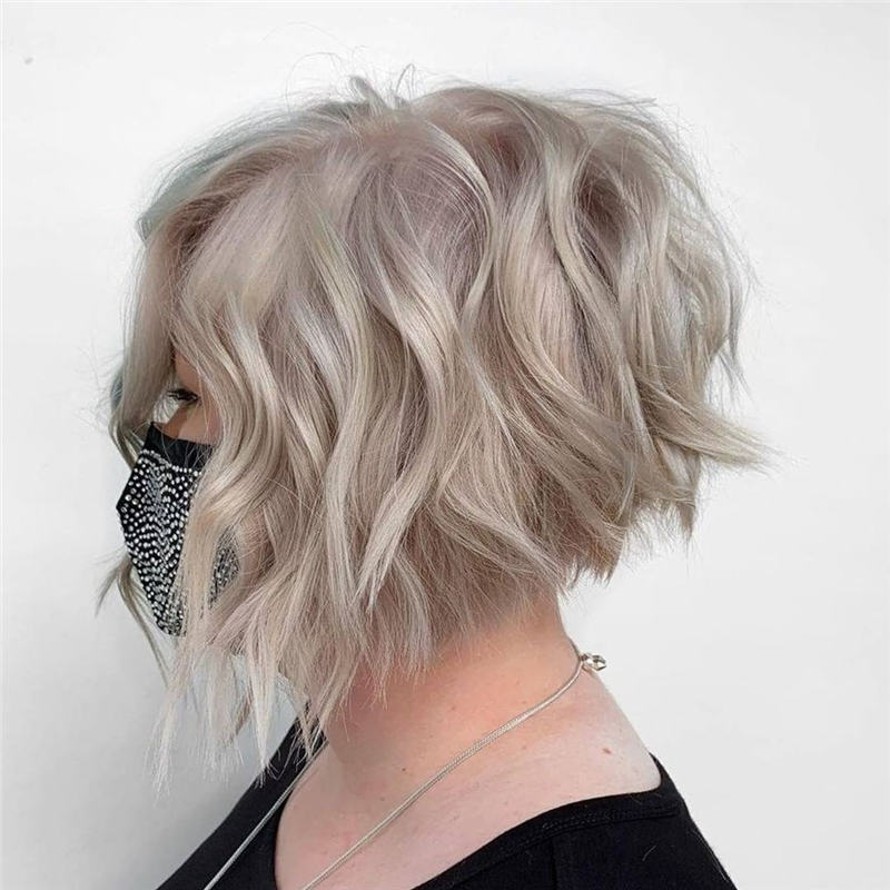 Best Short Blonde Hair Ideas That Makes You Pretty 23