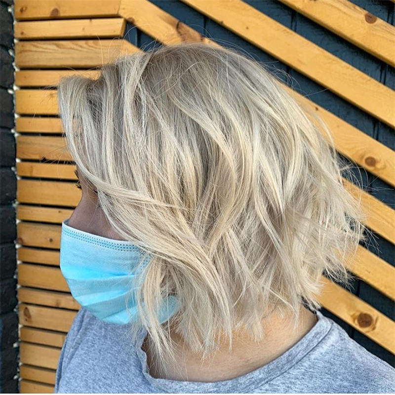 Best Short Blonde Hair Ideas That Makes You Pretty 31