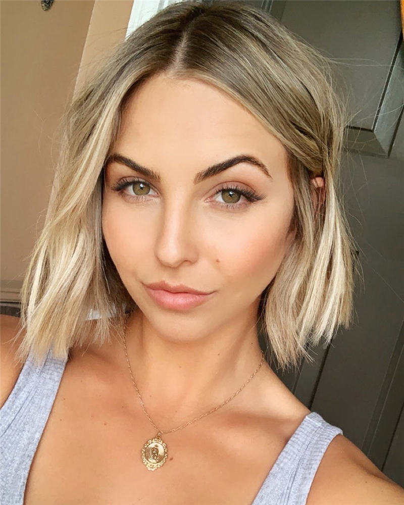 Best Short Blonde Hair Ideas That Makes You Pretty 33
